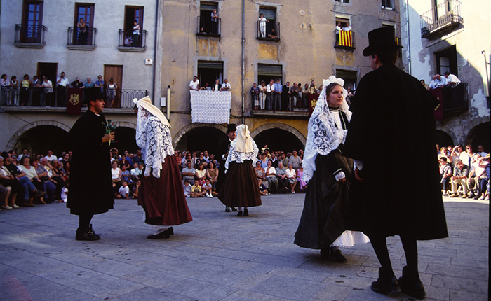 Sant Joan les Abadesses – Dance traditionnel des Pabordes